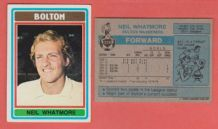 Bolton Wanderers Neil Whatmore 319